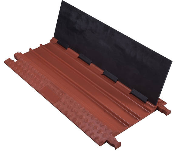 3 channel drive over cable protector cover heavy duty. Black Bedroom Furniture Sets. Home Design Ideas