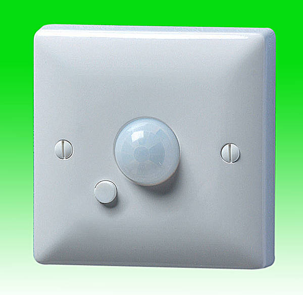 Wall PIR Occupancy Light Switch - 2 Wire