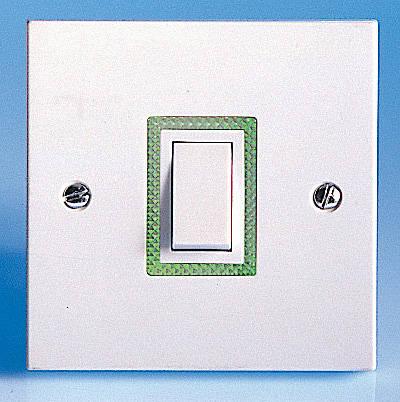 2 Way Light Switch >> 1 Gang 2 Way Illuminated Switch 10 Amp