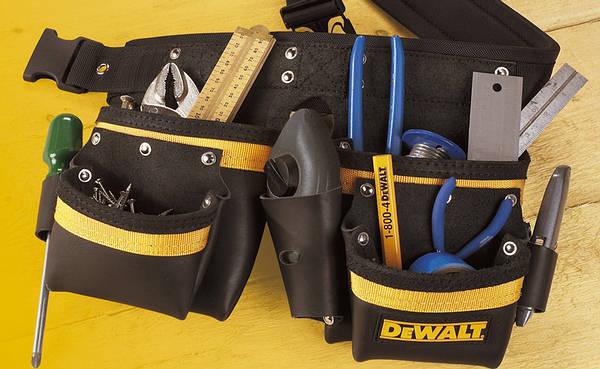Dewalt Dt8303qz 2 Pocket Tool Belt