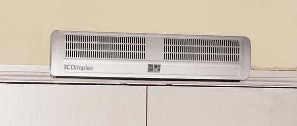 Dimplex Ac6n 6kw Warm Air Curtain