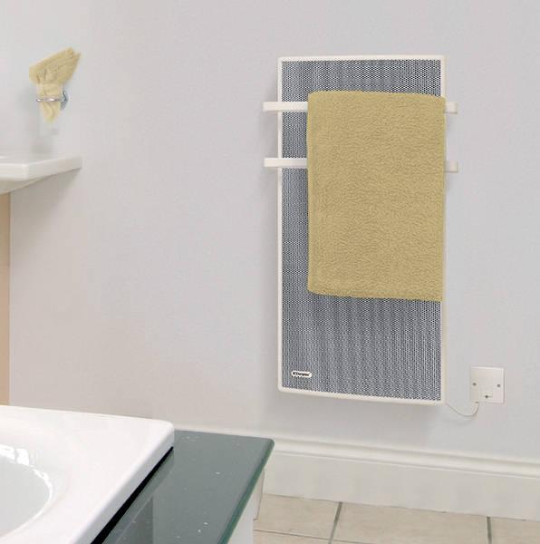 Dimplex Wall Heaters Bathroom: Dimplex APL100 Apollo 1kW Bathroom Panel / Towel Heater