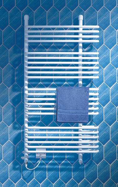 Dimplex Br500 500w Ladder Towel Rail White 630mm