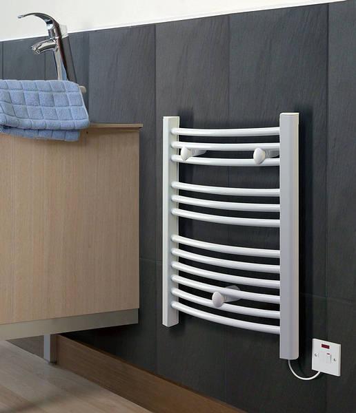 Dimplex 250w Chrome Electric Towel Rail: Dimplex DTR175C 175W Chrome Drytech Towel Rail
