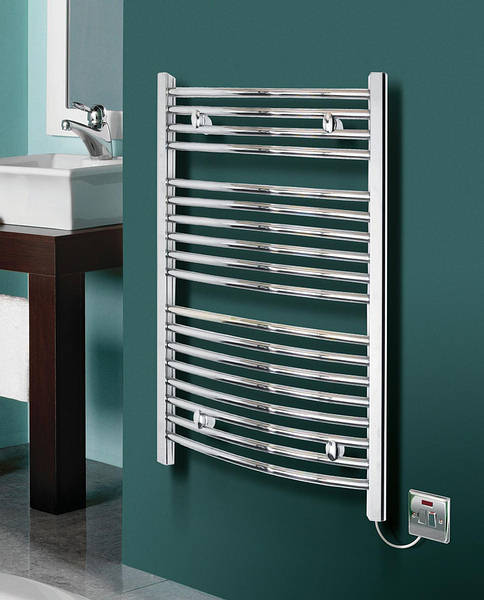 Heated Towel Rails Electric Chrome