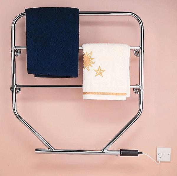Dimplex 250w Chrome Electric Towel Rail: Towel Rail Chrome 100w