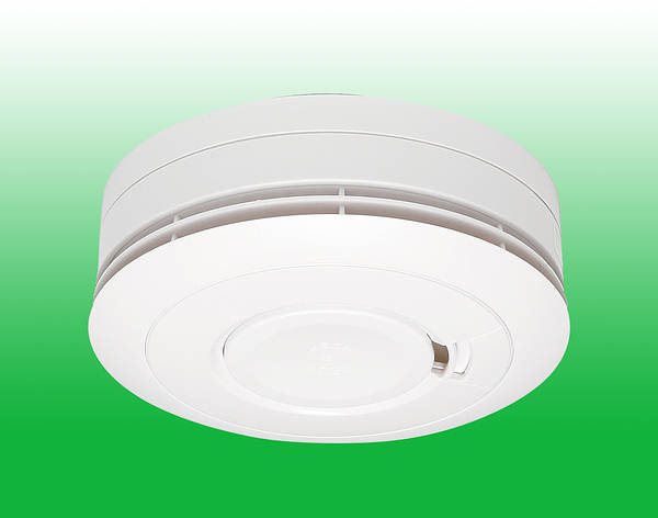 optical smoke alarm 10 year battery with wireless interconnection. Black Bedroom Furniture Sets. Home Design Ideas