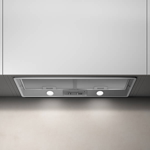 72cm Elibloc Ht Built In Cooker Hood Hi Spec Grey