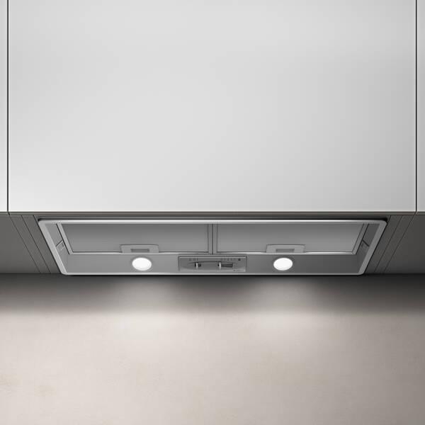 72cm Elibloc Ht Built In Cooker Hood Hi Spec Grey