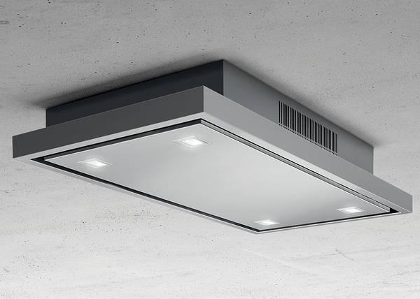 Elica Stratos St Steel 90cm Ceiling Extractor Fan