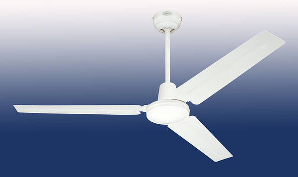 56 Quot Industrial Ceiling Fan White With Wall Controller