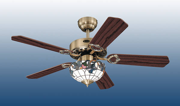 42 Quot Traditional Tiffany Ceiling Fan
