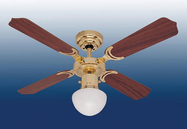 36 Quot Portland Ambiance Ceiling Fan Brass