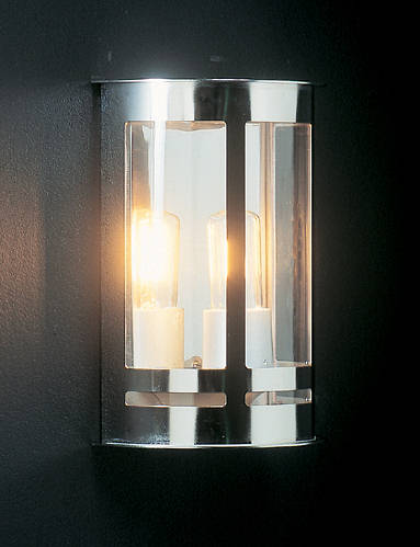 Bavaria wall light stainless steel for Contemporary exterior wall lights