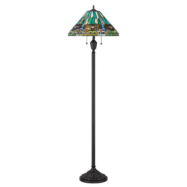 King Floor Lamp Vintage Bronze