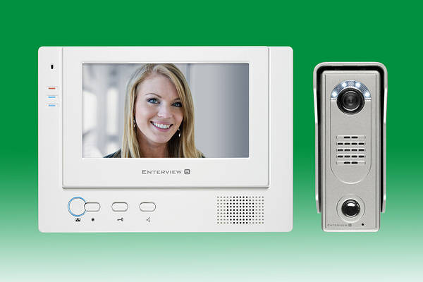 Enterview 5 Hands Free Colour Door Entry System
