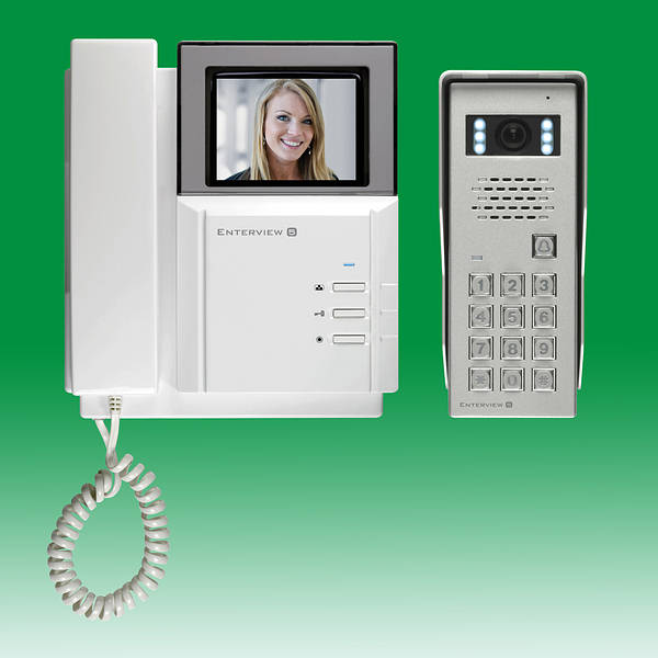 Enterview 5 Colour Video Door Entry System Keypad
