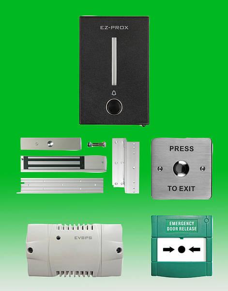 12v Proximity Door Entry Reader Kit C W 10 Tags Amp Maglock