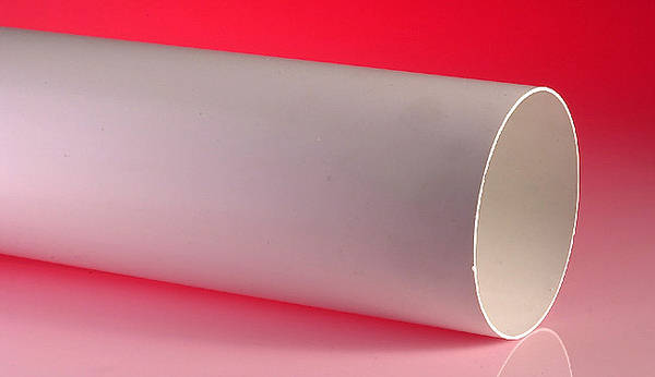 4 Inch 100mm Vent Pipe In White 1000mm