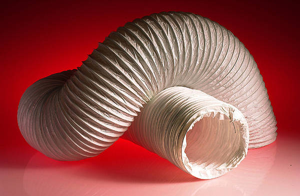 6 In Flexible Duct Hose : Inch flexible and rigid ducting clips ventilation
