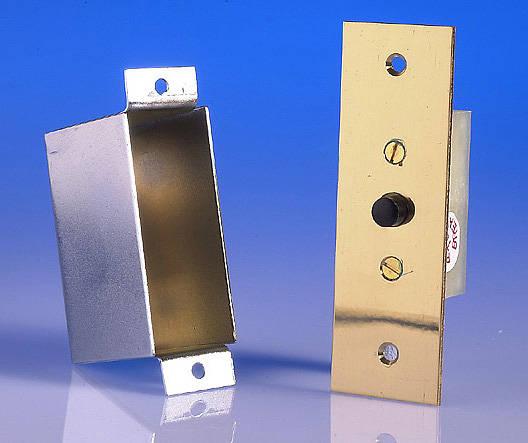 Door Switch Flush With Box Push To Break 1 Amp Brass