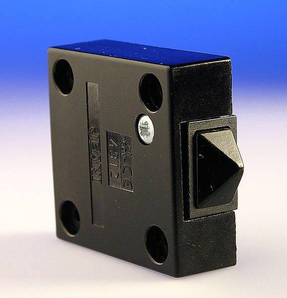 Door Switch Surface Push To Break 2 Amp Black