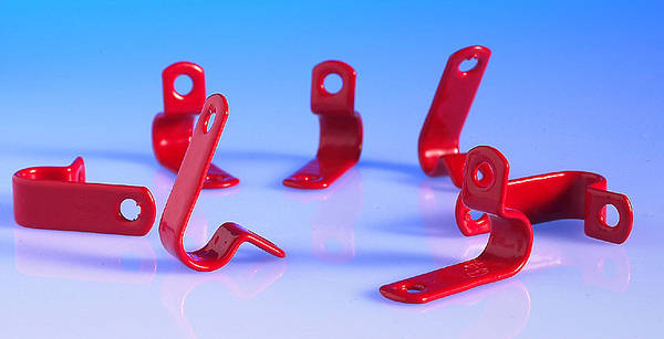 Fire Cable Clip Red To Suit Cables 6 0mm 8 4mm Dia