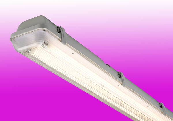 Anti Corrosive Fluorescent Fittings Ratedi P 65 Weatherproof