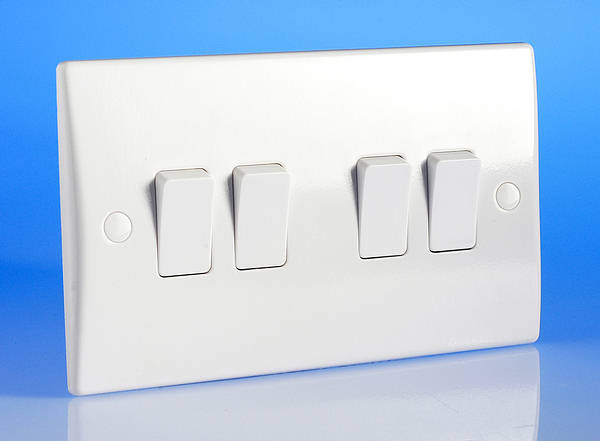4 Gang 2 Way Light Switch
