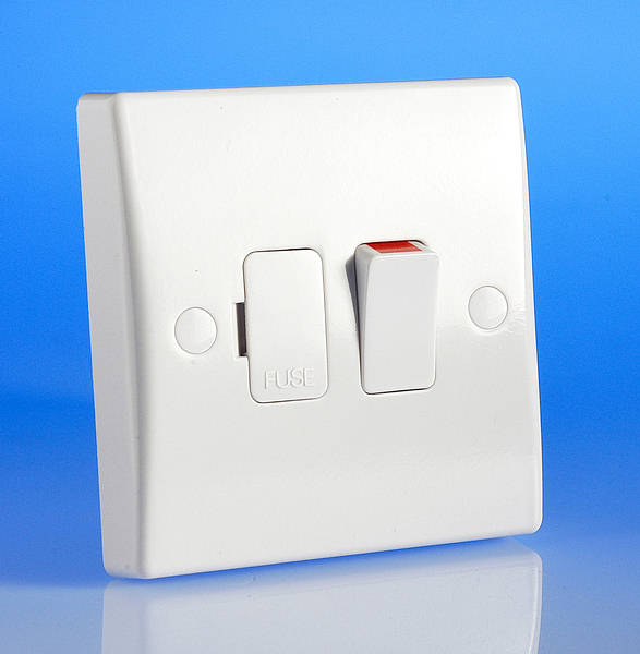 13 Amp Switched Fused Spur   Flex Outlet
