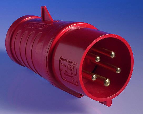 415v 32 Amp 5 Pin Plug