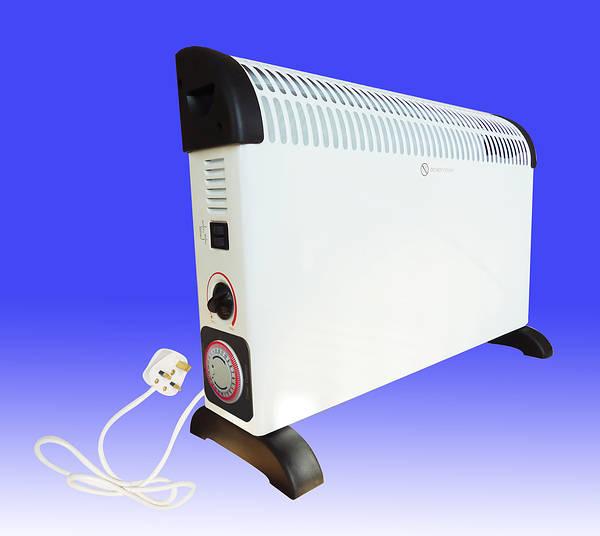 2kw Convector Heater C W 24hr Timer