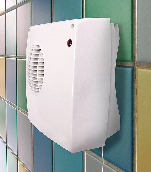 Bathroom wall fan heater for How to heat a bathroom