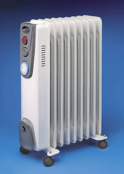 2kw oil filled electric radiator timer