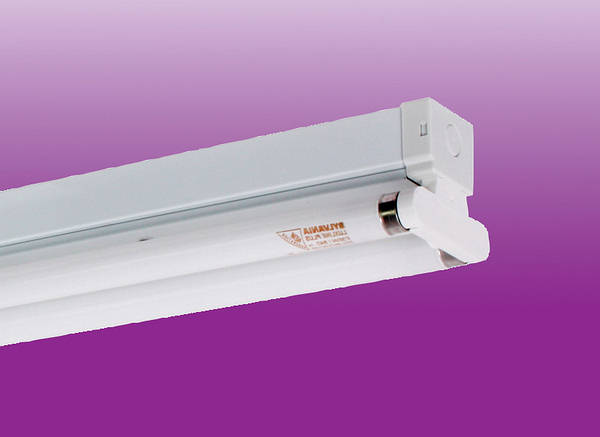 4ft 36w Twin Hf Fluorescent Fitting Less Tubes