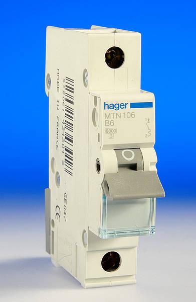 6 Amp Hager Mcb B Type