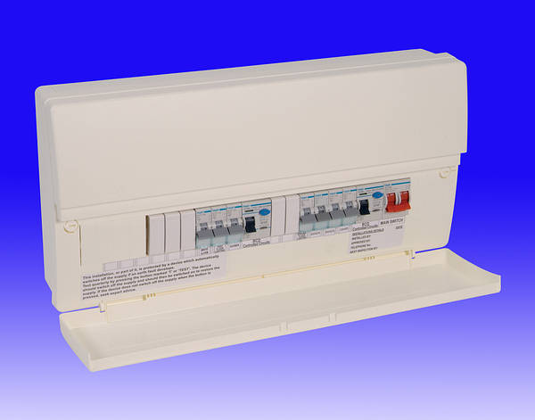 Hager Electrical Fuse Box : Hager th edition consumer units