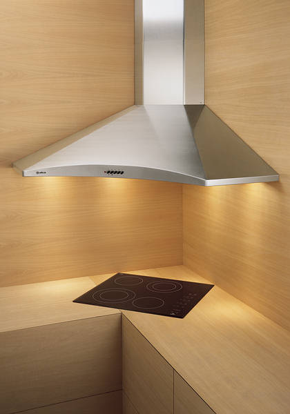 Corner Chimney Cooker Hoods