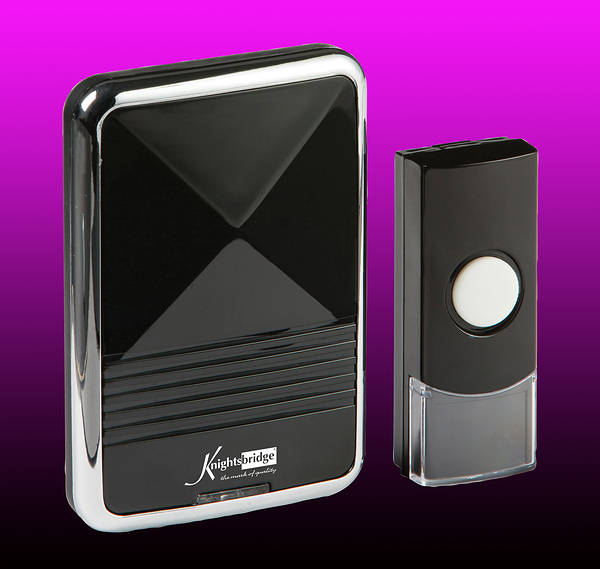 Wireless door chime shop for care case online door chimes for Door open chime