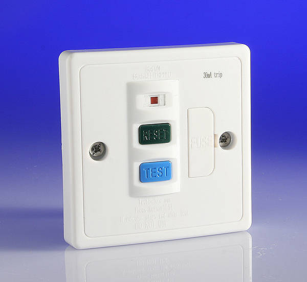 13 Amp Rcd Protected Spur Contactum