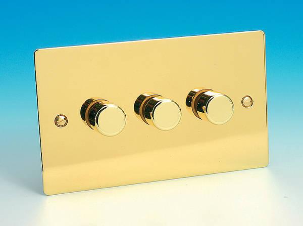 3 Gang 2 Way 300w Iq Dimmer Switch