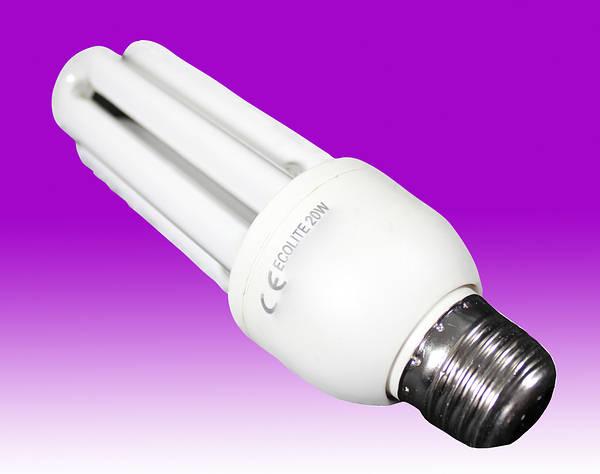 20w Es E27 Energy Saving Ecolite Uv Lamp