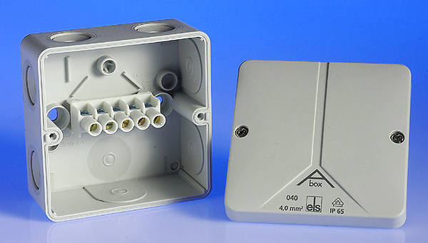 32 Amp Weatherproof Junction Box Ip65