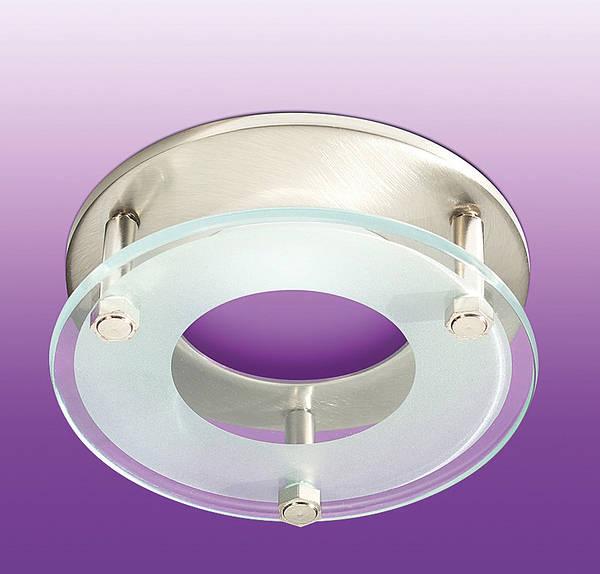 Drop Glass Bezel For Ltcfd12 Amp Frd12 Brushed Chrome