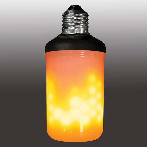 Flame Effect Led Lamp Es E27 For Hanging Downward