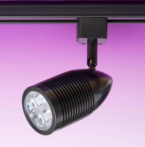 Jcc 4xgu10 Track Lighting Kit: 12w Bullet LED Track Light