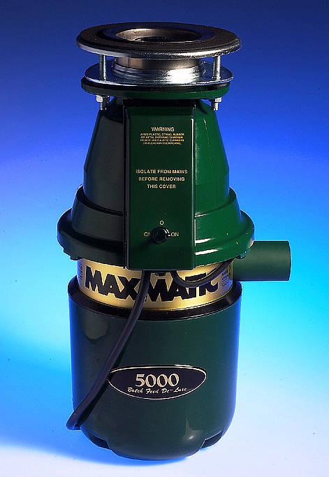 Maxmatic 5000 Waste Disposal