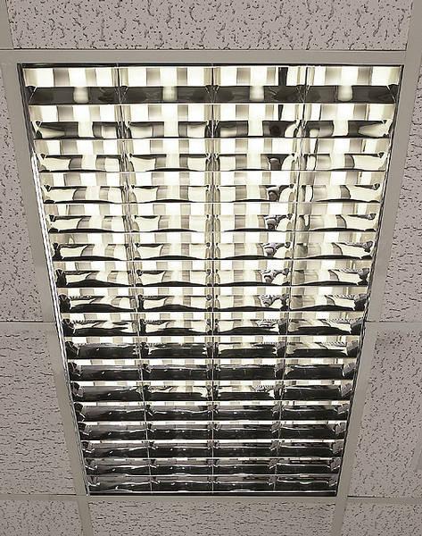 Recessed 1200 X 600 Modular Fluorescent Fittings