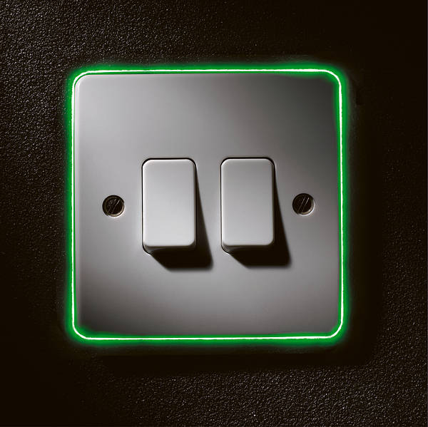 Neon Locator For 1  2 And 3 Gang Switches