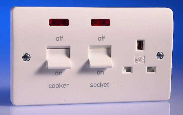 45 Amp Cooker Control Unit C W Neon